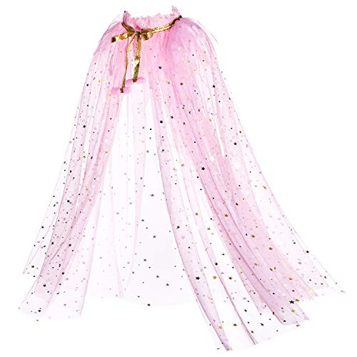 Party Chili Princess Cape Cloaks for Little Girls Dress Up