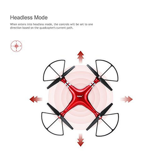 GoolRC X8HG 8.0MP HD Camera RC Quadcopter with Barometer Set Height and Headless Mode