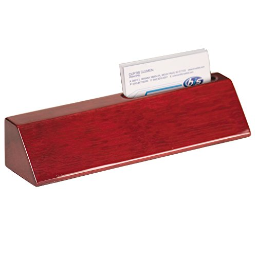 Personalized Rosewood Finish Business Desk Executive Name Plate - Desk Office   10 1/2