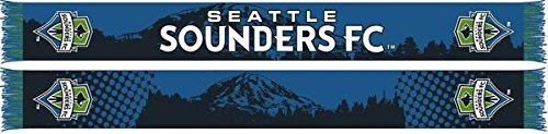 Seattle Sounders Official MLS Scarf - 13 Designs