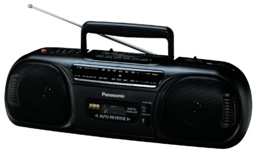 Panasonic RX-FS470 Portable AM / FM Radio and Cassette Boombox by Panasonic