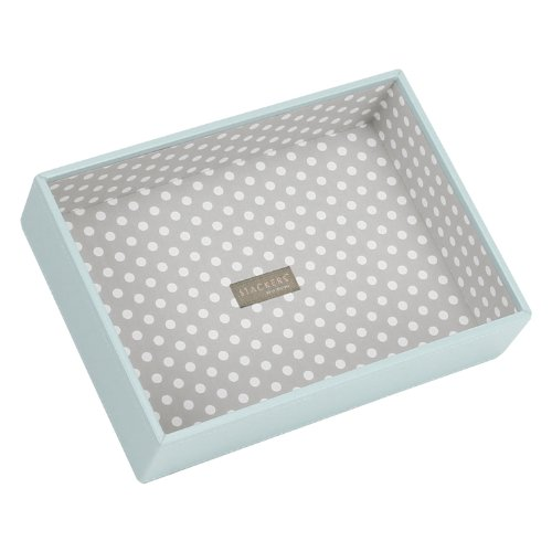 (Stackers Duck Egg Blue Classic deep Open Jewelry Box)