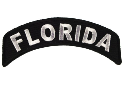 - Florida State Rocker Iron or Sew on Embroidered Shoulder Patch D37