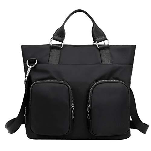 LUXISDE Fashion Women Shoulder Bag Nylon Waterproof Handbag Large-Capacity Travel Bags ()