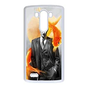H-Y-G5098739 Phone Back Case Customized Art Print Design Hard Shell Protection LG G3