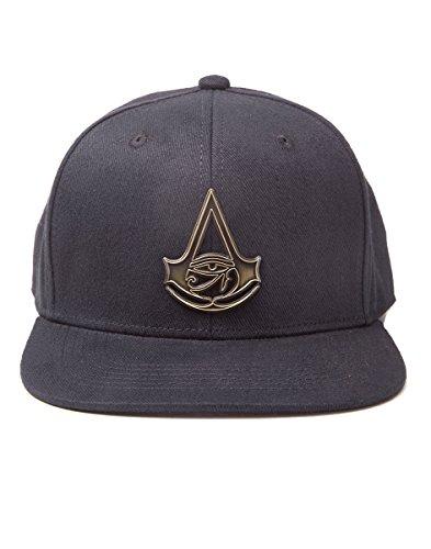 Assassin's Creed - Origins - Metal Logo Snapback Mütze [Importación alemana]