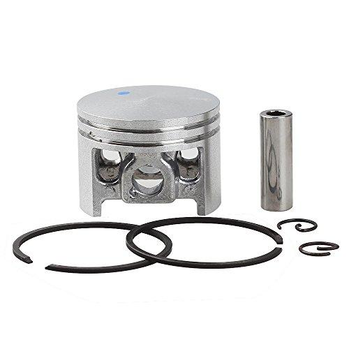 Pro Piston Ring Set (Savior 44MM Cylinder Piston Ring Pin Clips kits for Stihl Chainsaw 026 MS260 026 PRO 1121 020 1203)