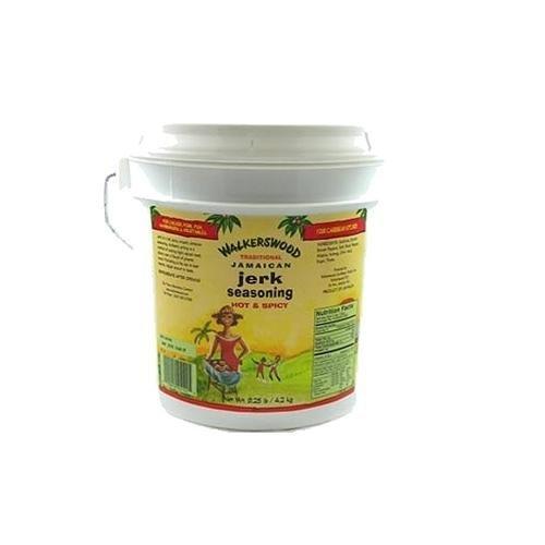 Walkerswood Jamaican Jerk Seasoning, 9.25-Pound Jumbo Can (4 Pack) by Walkerswood