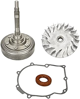 YAMAHA GRIZZLY 660 WET CLUTCH DRUM HOUSING AND PRIMARY SHEAVE FITS FOR 2002-2008