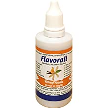 Flavorall Liquid Flavoured Stevia (Alcohol-Free), Valiant Vanilla, 50ml