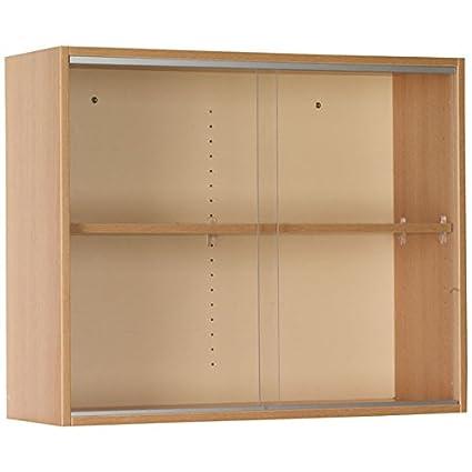 Amazon Wall Display Cabinet With Sliding Glass Doors 36w X