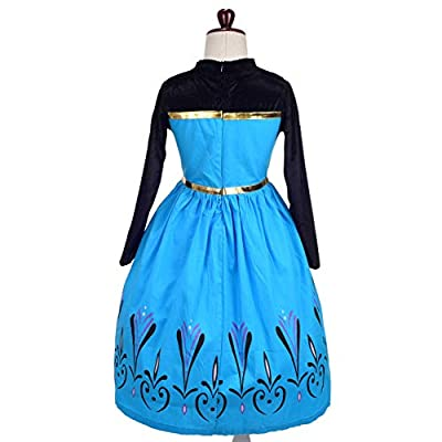 Dressy Daisy Girls Ice Princess Coronation Dress Up Costume Halloween Christmas Party Outfit: Clothing