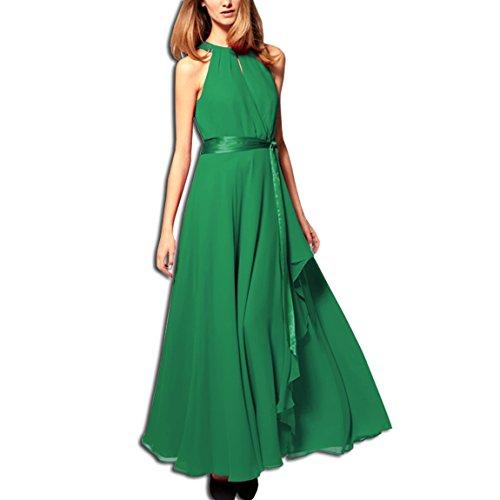 Sleeveless Cocktail Dress KAXIDY Dress Dress Evening Gown Elegant Green Party gX5Oq