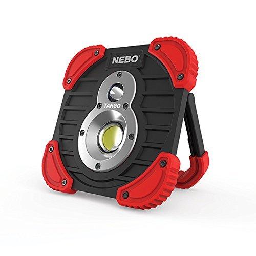 NEBO TANGO Features 2 High Power Light 250 Lumen Spot Light, 750 lumen C•O•B Work Light