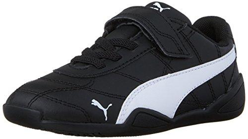 PUMA Boys' Tune CAT 3 V INF Sneaker Black/White 10 M US Toddler (Shoes Boy Size Toddler Puma 10)