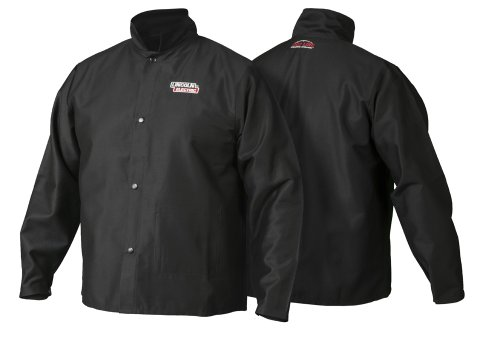 Lincoln Electric K2985 Traditional FR Cloth Jacket (Fr Welding Jacket)