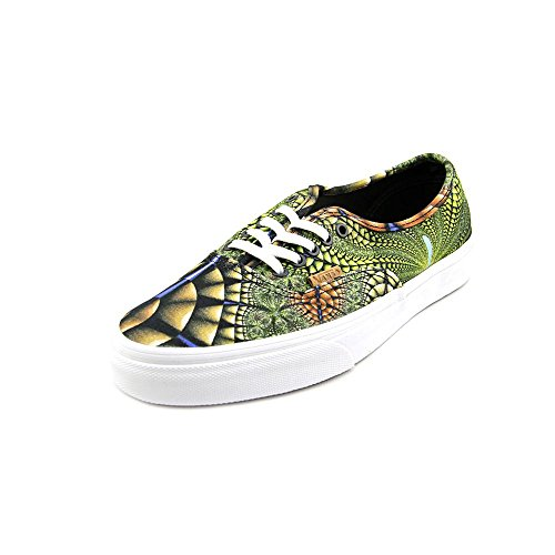 5 Size Authentic 7 Vans Athletic US Green Textile Women CA Sneakers dXpdqYI