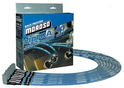- Moroso 73800 Ultra 40 Race Spark Plug Wire Set