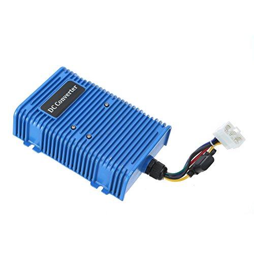 (Voltage Reducer,World 9.99 Mall 30 Amp Dual Power Source Club Car Fits Golf Cart Voltage Reducer (36v/48v to 12v) 360 Watt!)
