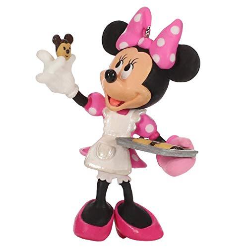 Hallmark Keepsake Christmas Ornament 2019 Year Dated Disney Minnie Mouse One Smart Cookie,