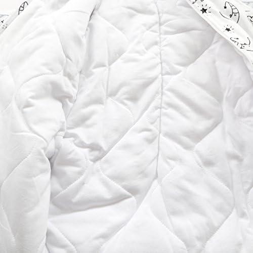 0-3 Meses, 2.5 TOG 100/% algod/ón y Espesor DE 2,5//3,5 TOG el Mejor Producto para Dormir Largo por ni/ños DE 0-6 Meses MKW Babies Saco de Dormir para beb/é Usar en oto/ño//Invierno