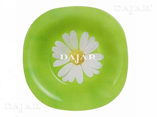 Dajar Paquerette Luminarc Glass Green Soup Bowls 20.5x 20.5x 1.5cm