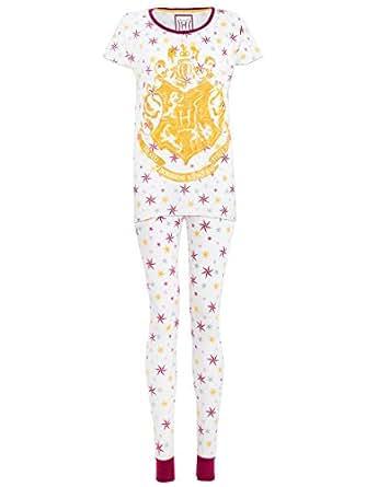 Imagen no disponible. Imagen no disponible del. Color: Harry Potter - Pijama para mujer ...