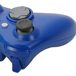 NewBull Blue Wireless Game Remote Controller for Microsoft Xbox 360 Console