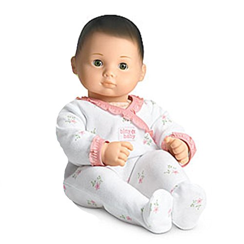 American Girl - Bitty Baby Doll Light Skin Brown Hair Green Eyes BB9 (Baby Doll Brown Hair)