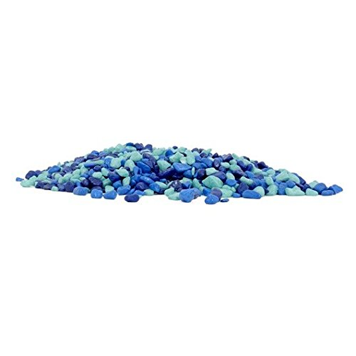 Marina 12389 Decorative Gravel, 1 lb, Blue