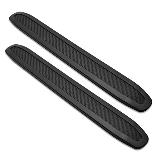 Bmw Bumper Guards (runmade Universal Black Anti-collision Patch Bumper Guard Strip Anti-scratch Bumper Protector Trim for Cars (2 Pack))