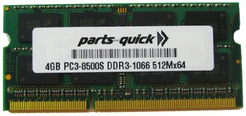4GB Memory for Compaq Presario Notebook CQ56-107SA DDR3 P...