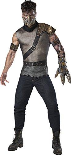 Fun World Men's Wasteland Warrior, Multi, L - Apocalyptic Costumes