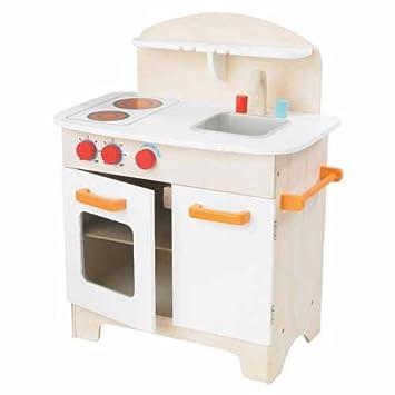Hape Gourmet Kitchen In White Kidu0027s Wooden Play Kitchen