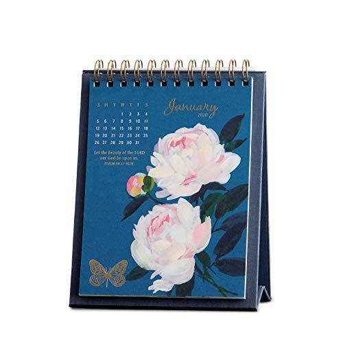 Easel Calendar 2020 - DaySpring Floral - 2020 Desktop Calendar