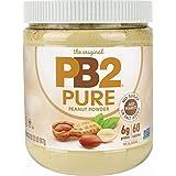 PB2 Pure Peanut Butter Powder - [2 lb/32 oz Jar] - No Added Sugar, No Added Salt, No Added Preservatives - 100% All Natural R
