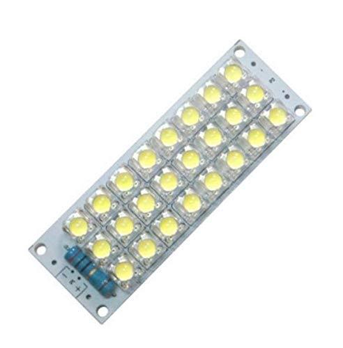 5PCS DC 12V 24-LED Super Bright White Piranha LED board Night LED Lights Lamp