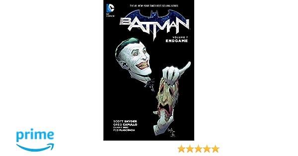 Batman TP Vol 7 Endgame: Amazon.es: Scott Snyder, Greg ...