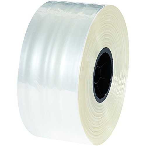 Tape Logic TLPZT0402 Polypropylene Tubing, 4'' x 1000', 4'' Width, Clear by Tape Logic