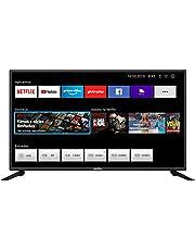 Smart TV LED, 42'' Polegadas, BTV42G70N5CF, Com conexão Wi-Fi, 2 entradas HDMI, Processador Quad-Core, Britania