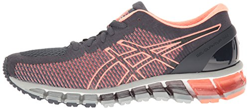 ASICS Women's Gel-Quantum 360 cm Running Shoe, India Ink/Flash Coral/Mid Grey, 9 M US by ASICS (Image #5)