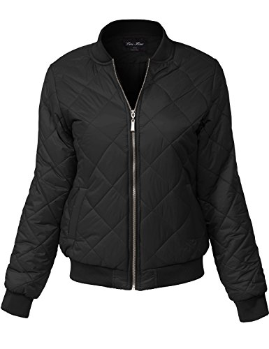 Plus Size Warm Winter Quilted Padding Bomber Jackets