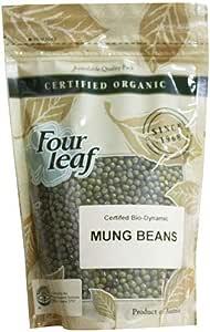 Four Leaf Milling Organic Mung Beans, 350 g