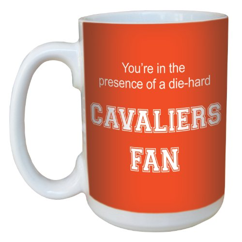 Tree-Free Greetings lm44599 Cavaliers College Football Fan Ceramic Mug with Full-Sized Handle, ()