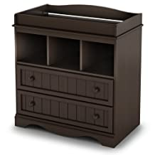 South Shore Furniture South Shore Savannah Collection Changing Table, Espresso