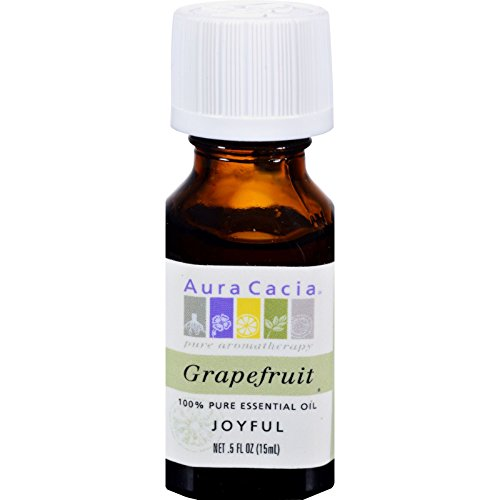 (Aura Cacia Essential Oils Grapefruit)