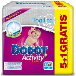 Toallitas Dodot Activity 324 Unidades