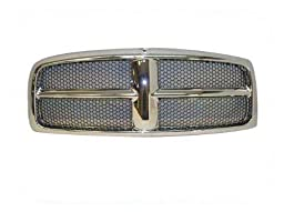 2002-2005 2004 2003 DODGE RAM 1500 PICKUP GRILLE CHROME
