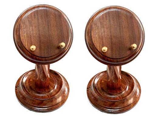 (Artshai Handmade Wooden Pocket Watch Display Stand (Set of 2))
