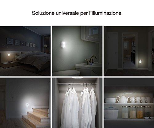 Jerrybox luce notturna sensore di movimento alimentazione a